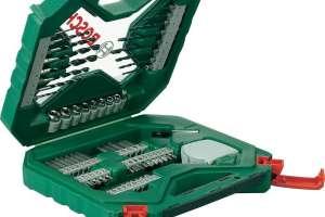Valigetta Bosch con 65 accessori per forare e avvitare