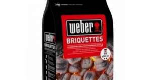 Weber Bricchetti di Carbone di Legna
