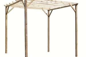 pergola 3x3 legno